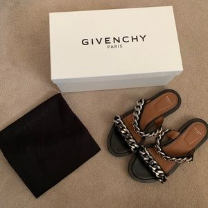 Givenchy chain sandals